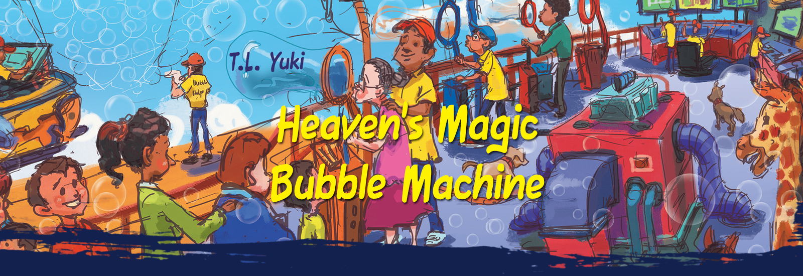 Heaven's Magic Bubble Machine